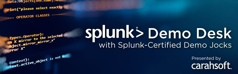 Splunk Demo Desk