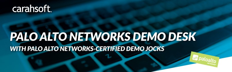 Palo Alto Networks Demo Desk