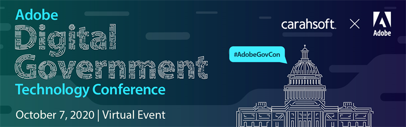 Adobe Digital Government Technology Conference 2020