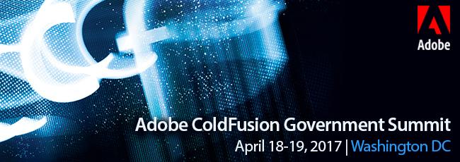 Adobe ColdFusion Government Summit 2017