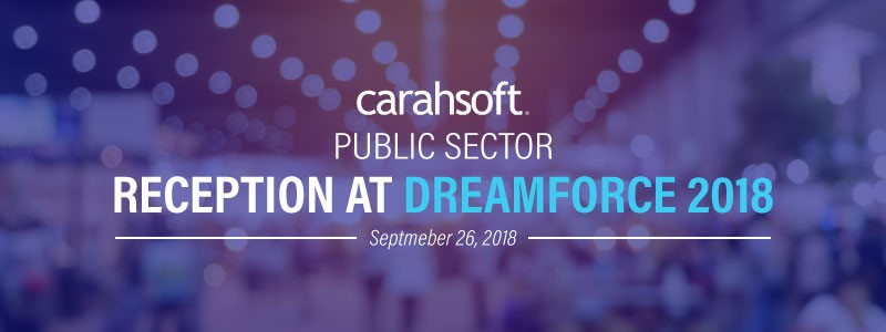 Carahsoft Public Sector Reception at Dreamforce