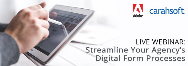 Live Webinar: Streamline Your Agency's Digital Form Processes