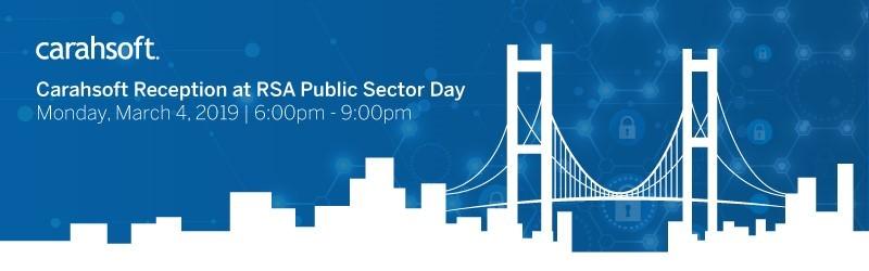 Carahsoft Reception at RSA Public Sector Day