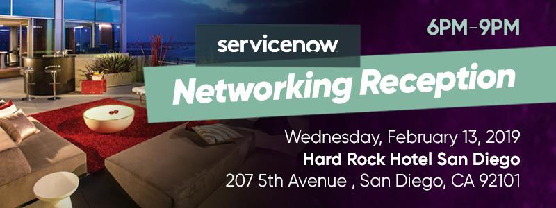 ServiceNow Networking Reception