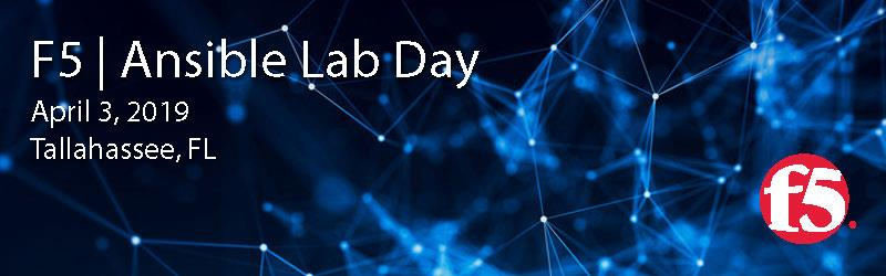 F5 | Ansible Lab Day