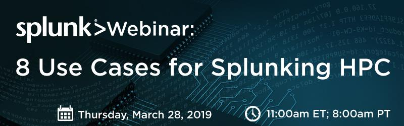 8 Use Cases For Splunking Hpc View