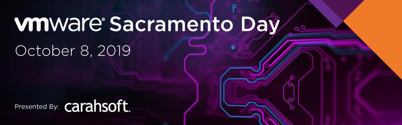 VMware Sacramento Day